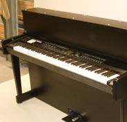 Snow Patrol piano shell satin black