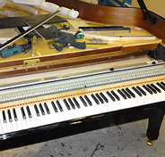 Kawai MP8 being installed in brand new grand piano