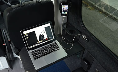 Luxury Auto Splitter Van Rentals UK - Matt Snowball Music London