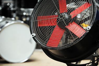 Stage Fan Hire London - Backline Rentals UK, Europe