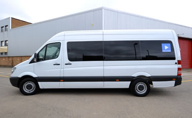 Luxury Auto Splitter Van Hire London For UK & European Tours